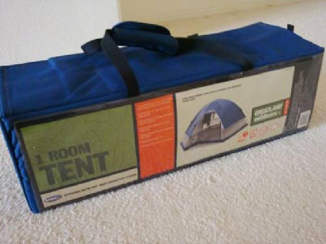 $150 GREATLAND Outdoors 1-Room C&ing Tent 11x9u0027 u0026 2 Foldable Cushion Beds & $150 GREATLAND Outdoors 1-Room Camping Tent 11x9u0027 u0026 2 Foldable ...