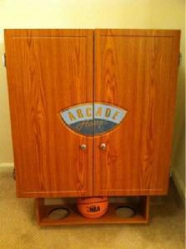 $150 Indoor Basketball Arcade Hoops Fold-up Cabinet for sale in ...