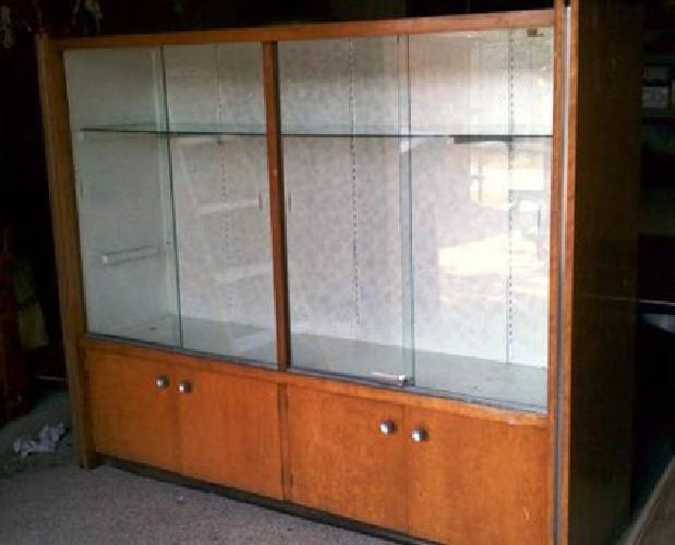150 mid century display cabinet trophy case modern design for sale in coppell texas. Black Bedroom Furniture Sets. Home Design Ideas