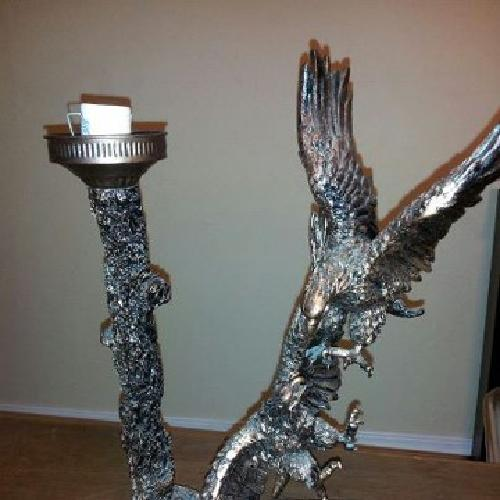 $150 OBO Beautiful Eagle Vision Alabastor Lamp
