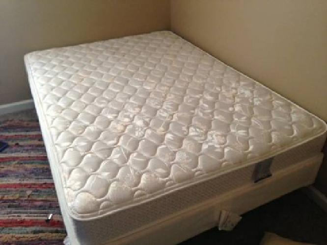 150 Obo Full Size Box Spring And Mattress For Sale In