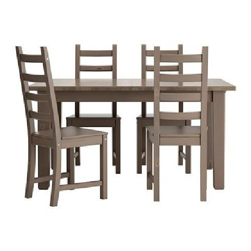 obo ikea dining table stornas and 4 dining chairs kaustby for sale