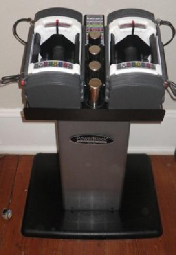 $150 OBO PowerBlock Elite compact dumbbell set