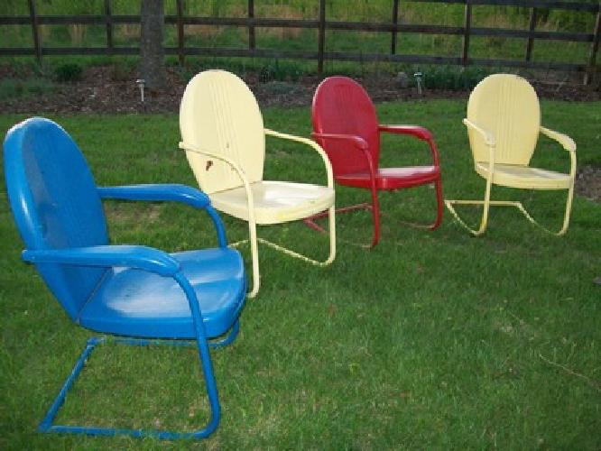 Retro Metal Lawn Chairs For Sale Vintage Metal Patio Chairs For Sale Style Pixelmari Vintage