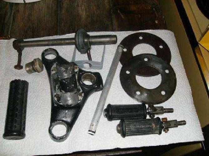 $150 Parts for a 1966 Harley Davidson 250cc Sprint-lots of parts