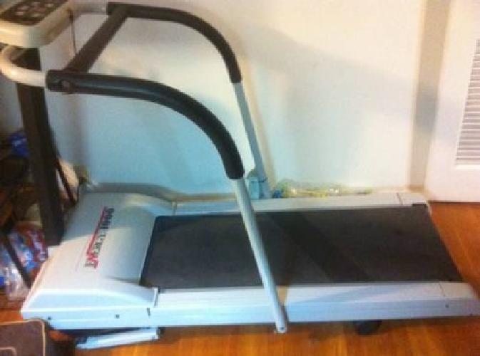 treadmill for holder reading
