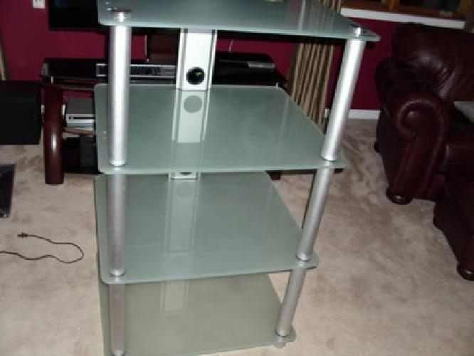 150 Sturdy Entertainment Stand Audio Tower Like New