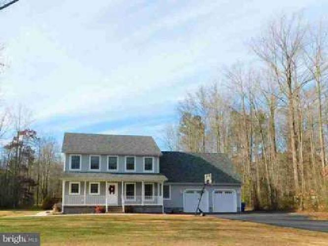 15425 Pepperbox Rd Delmar, This Four BR 2.5 BA home sits on