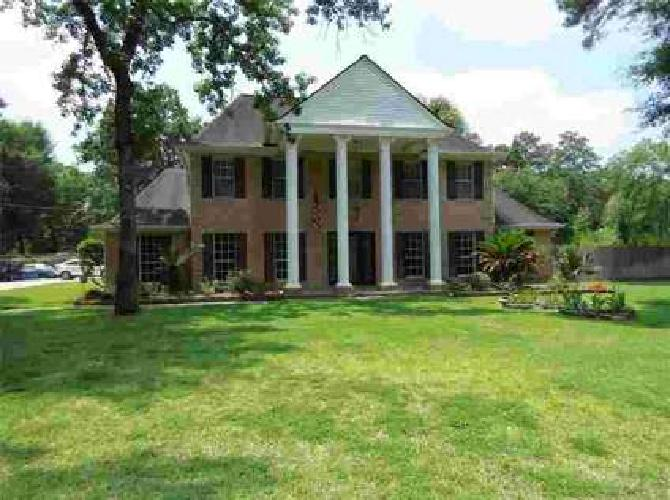15599 Oaklawn Park Drive Houston Five BR, Stately home and