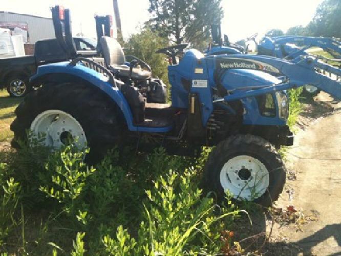 $15,200 2006 New Holland Tc40da Tractor