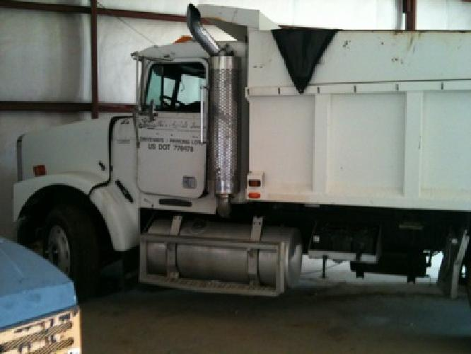 $15,900 Freightliner Tandem Axel Dump Truck W/15' Ox Body Bed*3406b Cat*9-Spd Trans*Good