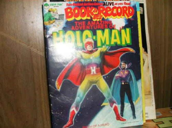 $15 Lot of 3 Book & Record Sets-Peter Pan Records 1974 to 1979
