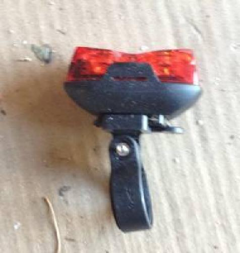 $15 MPD Rear Flashing Bicycle Light-Never used