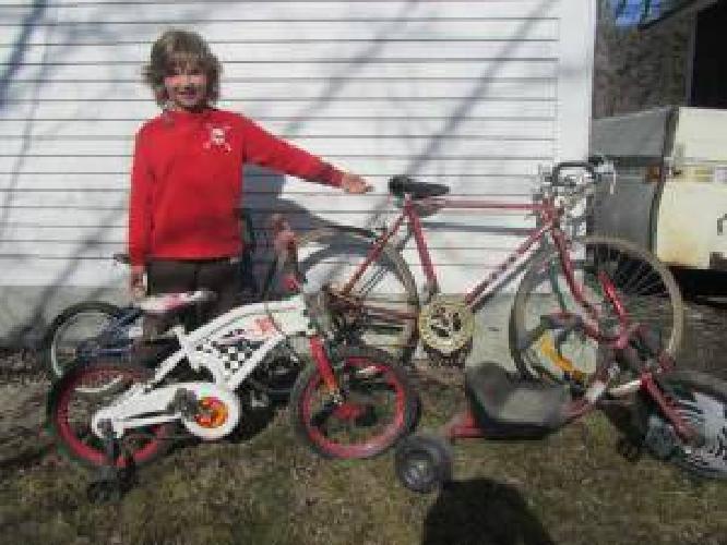 $15 Old Ross Road, kids bikes too