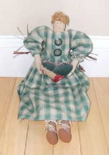 $15 Primitive Style Doll