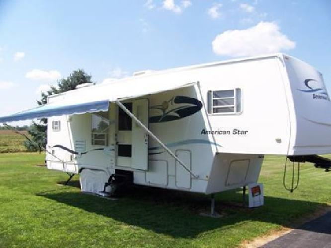 16 000 2002 American Star By Newmar 30 Ft Fifth Wheel