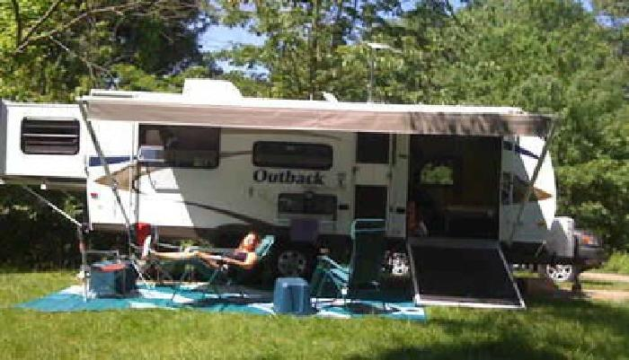 2014 Keystone Outback 230RS toy hauler travel trailer RV for sale ...