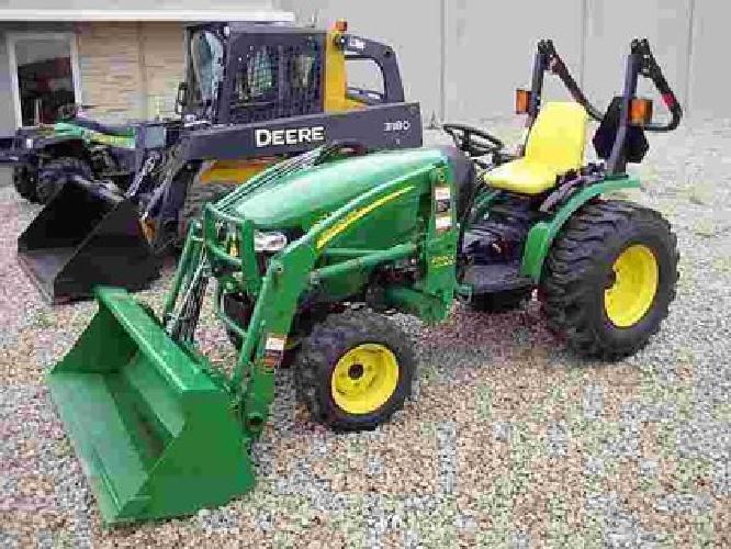 $16,500 2009 John Deere 2520