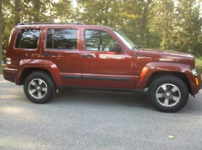 $16,900 2008 Jeep Liberty Sport 4x4, Like-New Inside & Out, Only 12,500 Miles