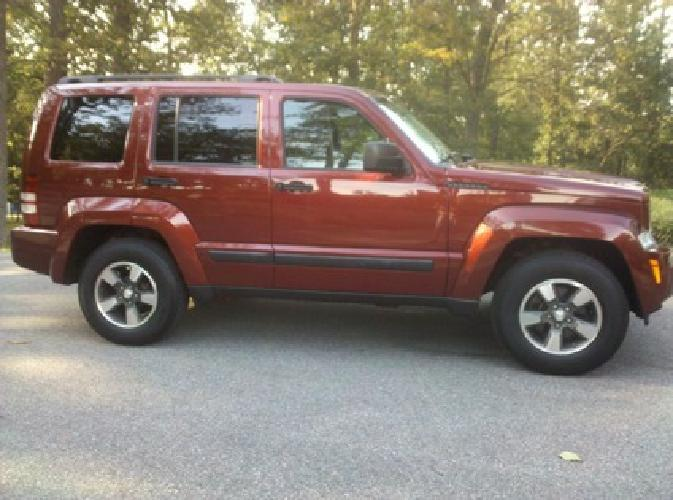 $16,900 2008 Jeep Liberty Sport 4x4, Like-New Inside & Out, Only 14,000 Miles