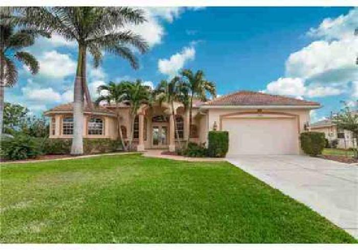 1705 SE 5th CT Cape Coral Four BR, Custom-built waterfront home