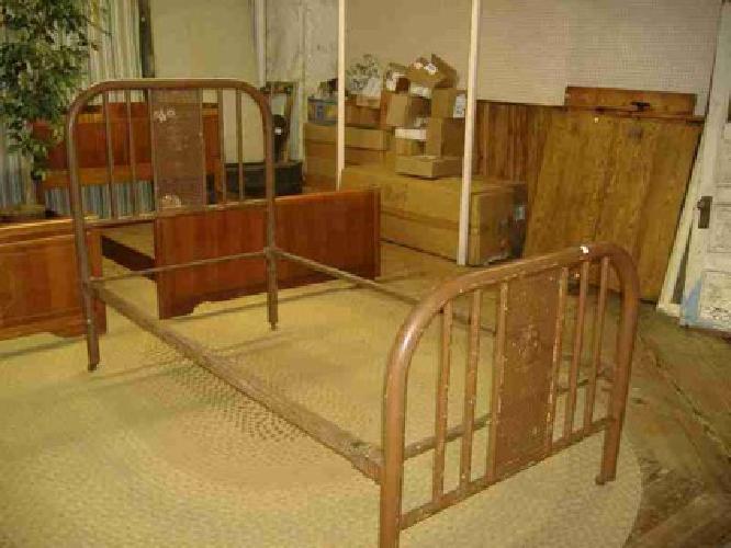 175 Art Nouveau Iron Bed Vintage Antique Single Twin Metal Trolley House Emporium For Sale In Philadelphia Pennsylvania Classified