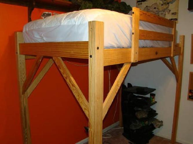 175 Loft Bed Timbernest College Dorm Twin Bunk For Sale