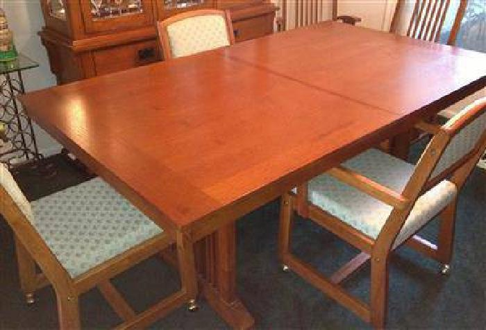 $175 Mission Style Dining Table & Chairs for sale in Palm