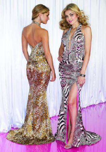 Rentprom Dress on 175 Mori Lee Animal Print Prom Dress   Size 8 For Sale In Iowa City