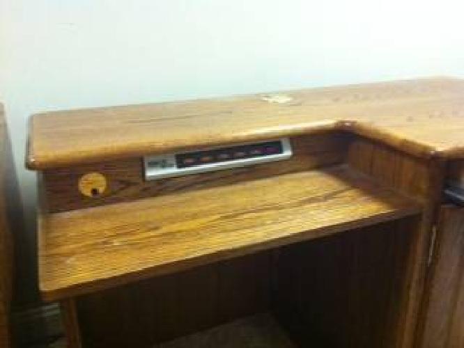 $175 Oak Computer Desk - Not Pressboard