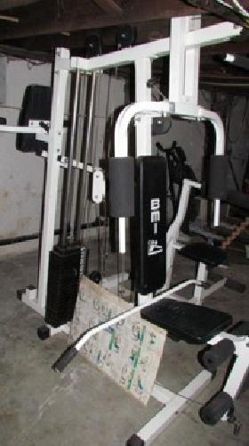 175 obo bmi universal home gym set model 9850 for sale in pottstown pennsylvania classified. Black Bedroom Furniture Sets. Home Design Ideas