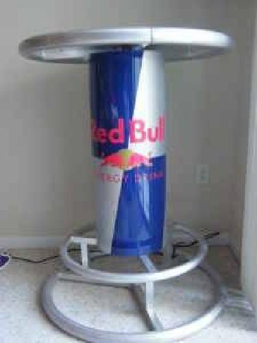 $175 Red Bull Pub Table