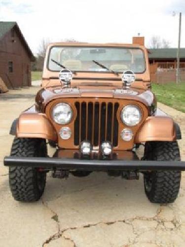 $17,950 1985 Jeep CJ 7 Sport Utility