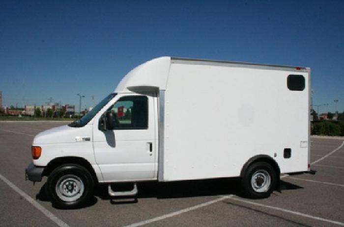 17 990 2007 ford e350 high top cargo van diesel 28k miles for sale in denver colorado. Black Bedroom Furniture Sets. Home Design Ideas