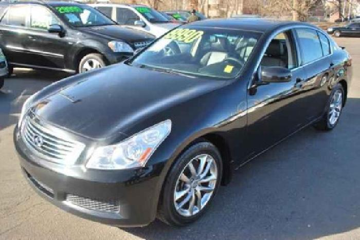 $17,990 Used 2008 Infiniti G35 for sale.