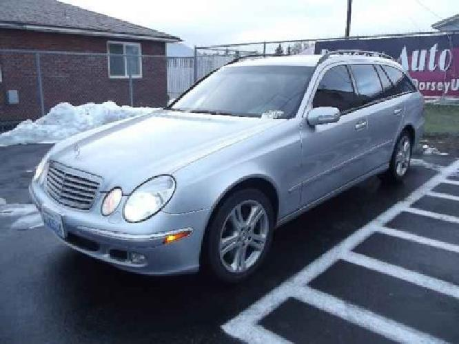 17 997 2004 mercedes benz e class wagon e500 4matic for for Mercedes benz e class wagon for sale