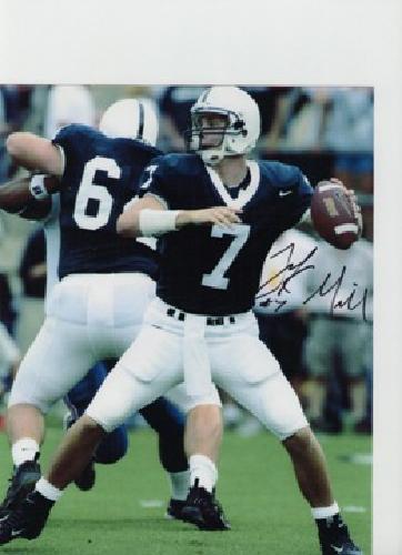$17 Penn State QB Zach Mills autgraphed 8 x 10