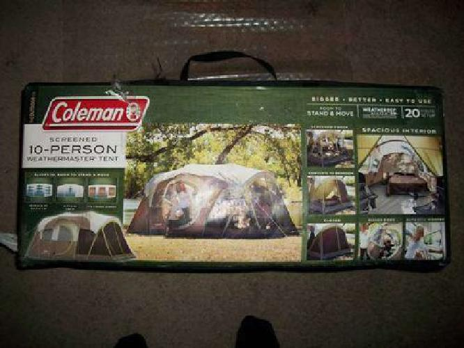 10 Person Tent Brand New & Coleman 10 Person Tent images