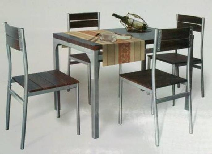 $180 New in Box Dining Table with 4 Chairs