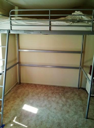 180 Obo Ikea Tromso Full Size Loft Bed Mattress For Sale In La