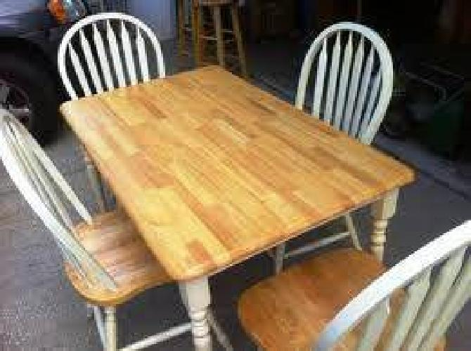 $185 Dining Table with 4 Chairs