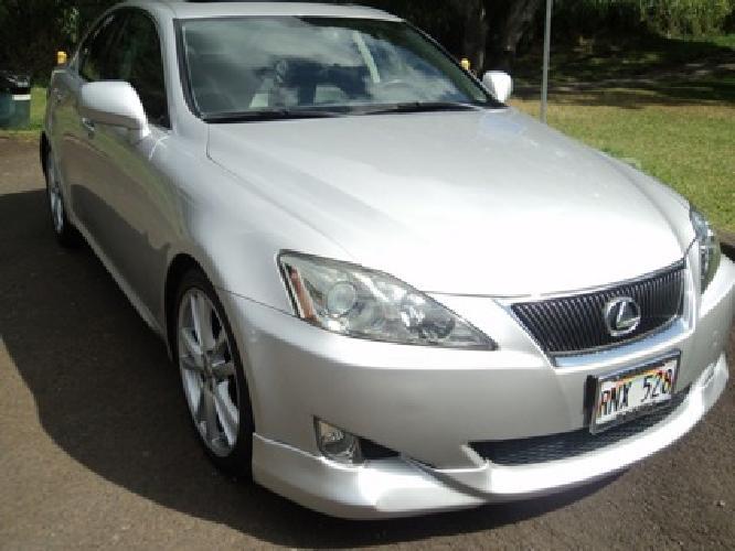 $18,000 2006 Lexus IS 350, 3.5L V6 Automatic Sedan, 50K Miles