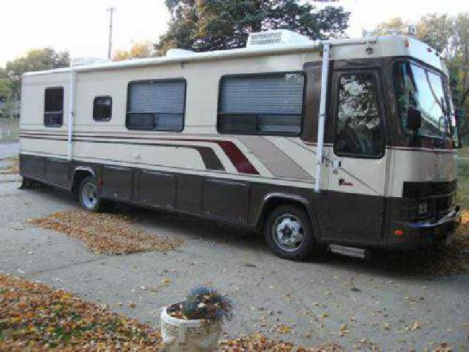 18 000 Class A Diesel Pusher Motor Coach For Sale In Des