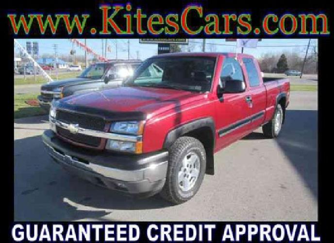 $18,400 Used 2005 Chevrolet Silverado 1500 Z71 Ext. Cab Long Bed 4WD, 99,048 miles