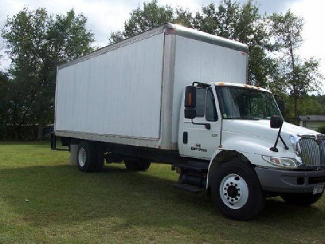 18 500 obo 24 ft international box truck for sale in augusta georgia classified. Black Bedroom Furniture Sets. Home Design Ideas