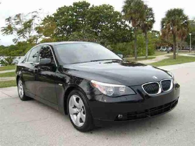 18 989 used 2006 bmw 5 series for sale for sale in fort lauderdale florida classified. Black Bedroom Furniture Sets. Home Design Ideas