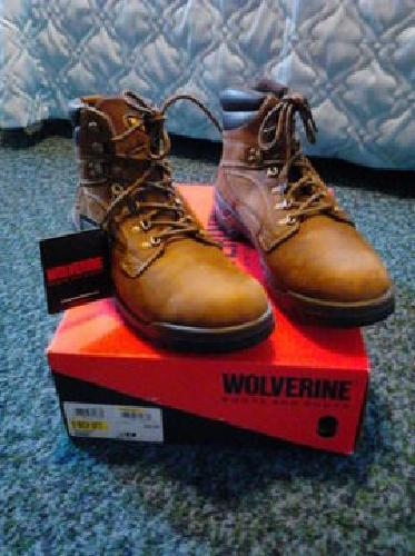 $18 Size 13D Wolverine 6 inch Brown Workboot. New In box