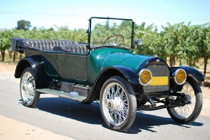 1916 Willys Overland Model 86 Touring Car With Free Delivery