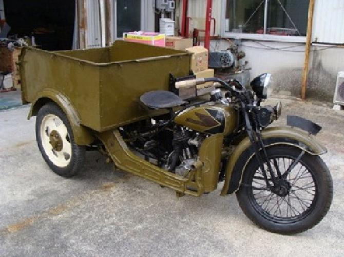 1934 Harley-Davidson Model RR Truck - Free Worldwide Shipping -
