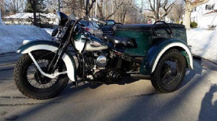 1941 Harley Davidson G Servi-Car